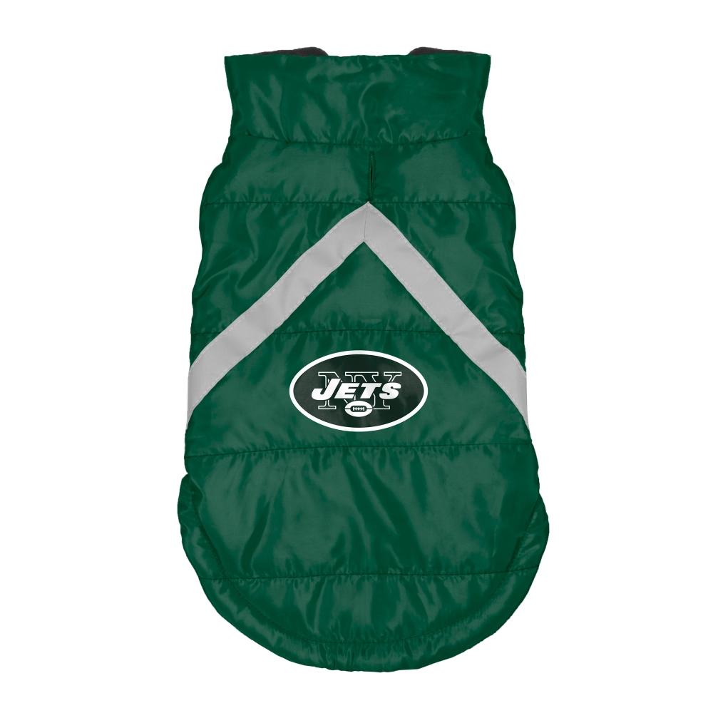 Little Earth Dog Puffer Vest, NFL New York Jets, Medium
