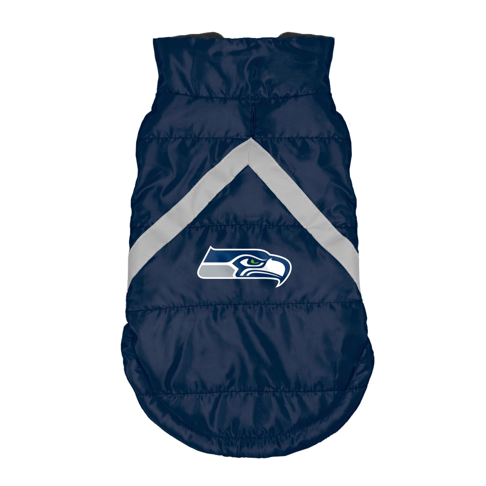 Little Earth Dog Puffer Vest, NFL Seattle Seahawks, Teacup