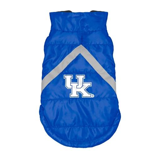 Little Earth Dog Puffer Vest, NCAA Kentucky Wildcats, Medium