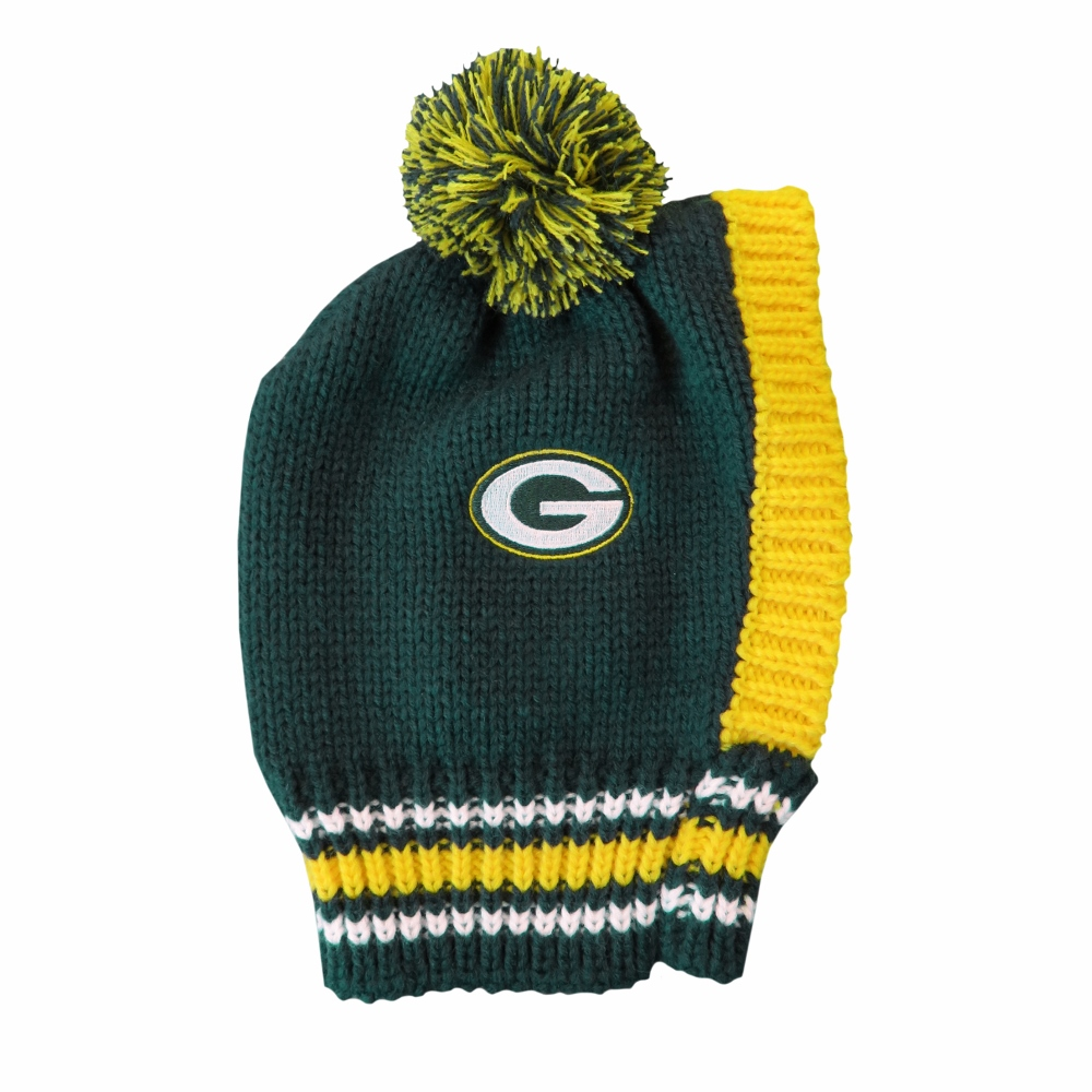 Little Earth Knit Dog Hat, NFL Green Bay Packers, Small