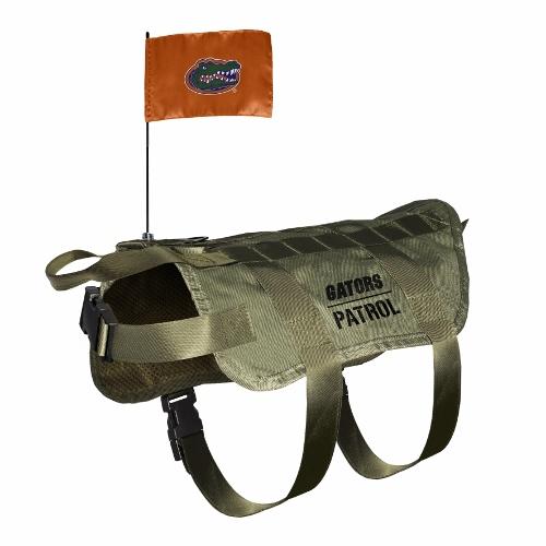 Little Earth Tactical Dog Vest, NCAA Florida Gators, X-Large/Big Dog