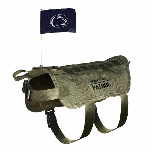Little Earth Tactical Dog Vest, NCAA Penn State Nittany Lion, X-Large/Big Dog