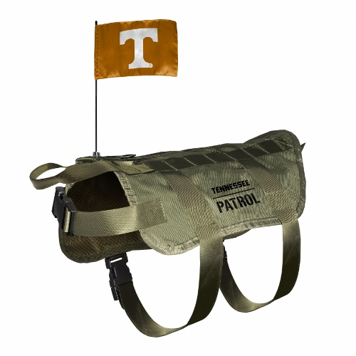 Little Earth Tactical Dog Vest, NCAA Tennessee Volunteers, X-Large/Big Dog