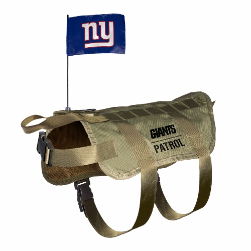 Little Earth Tactical Dog Vest, NFL New York Giants, X-Large/Big Dog