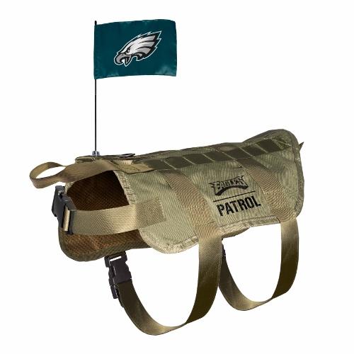 Little Earth Tactical Dog Vest, NFL Philadelphia Eagles, X-Large/Big Dog