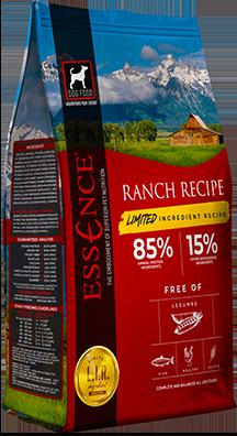 Essence LIR Ranch Recipe Dry Dog Food, 25-lb