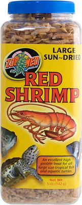 Zoo Med Large Sun-Dried Red Shrimp Turtle Treats