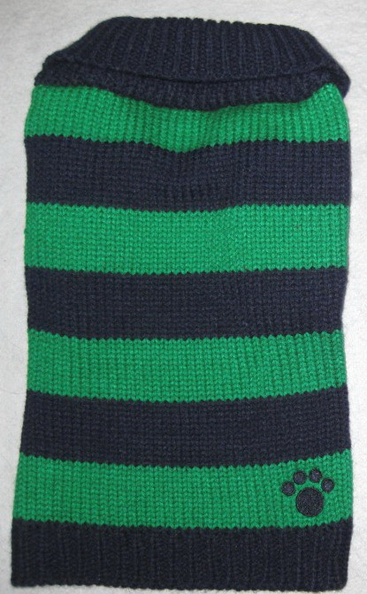 Dallas Dogs Sweater, Rugby Blue & Green, 6-in