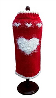 Dallas Dogs Sweater, Sweetheart Red, 6-in