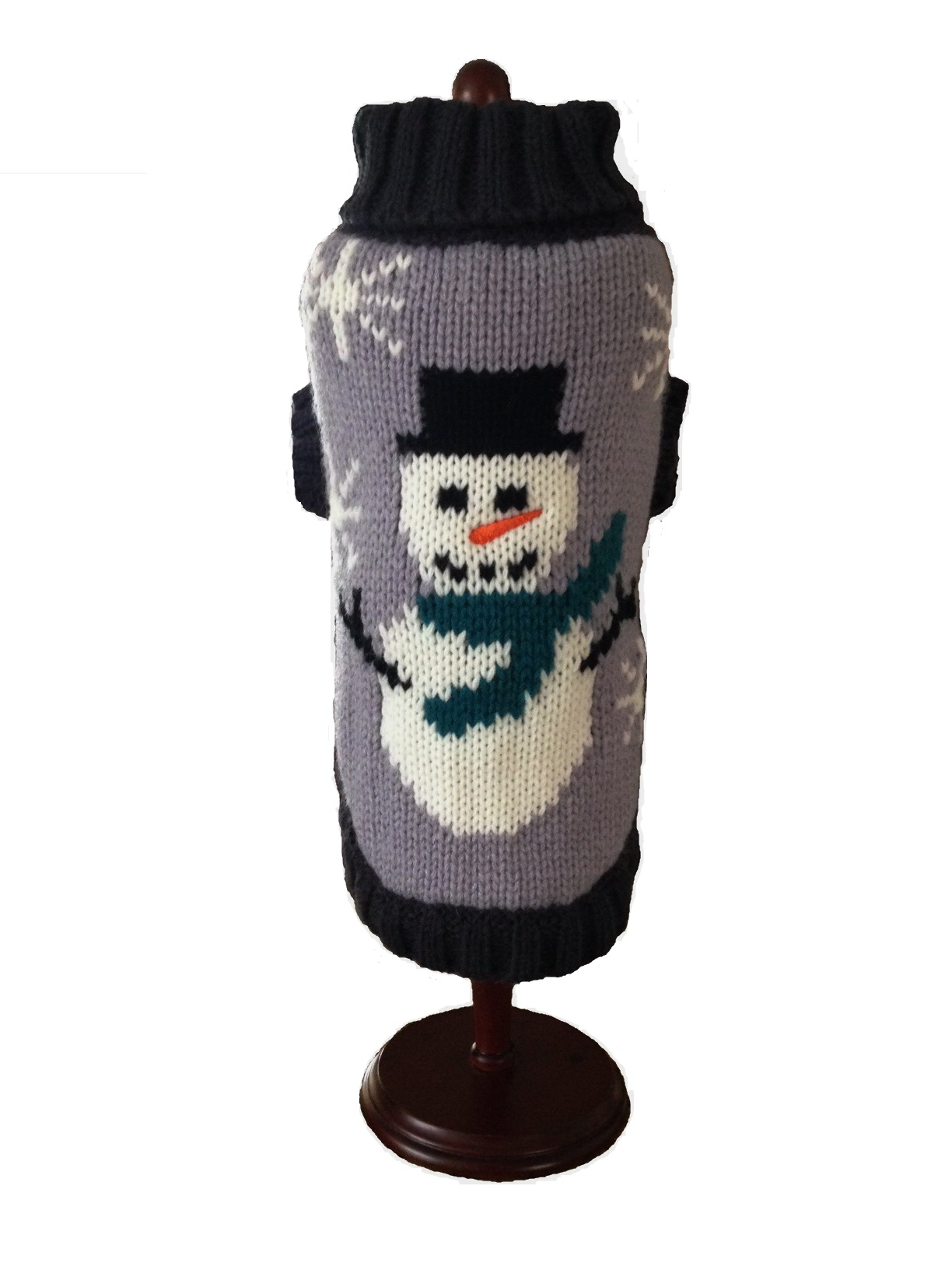 Dallas Dogs Sweater, Snowman, 8-in
