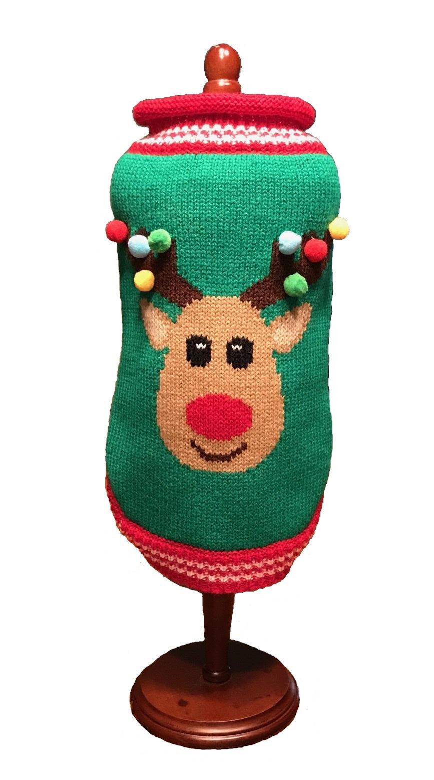 Dallas Dogs Sweater, Rudolf Sweater, 8-in