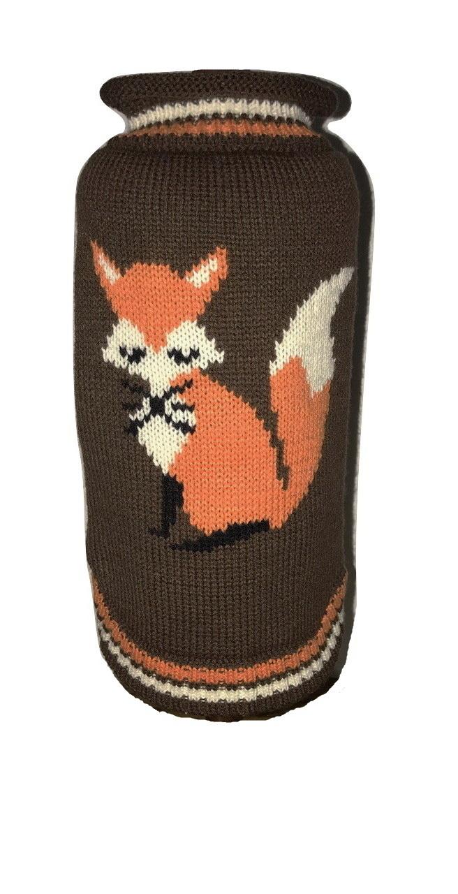 Dallas Dogs Sweater, Foxy Fox, 10-in
