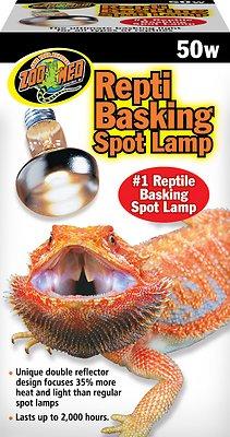 Zoo Med Repti Basking Reptile Spot Lamp, 50-Watt