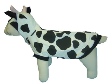 PAMPET / Puppe Love Dog Costume, Cow, Size 0