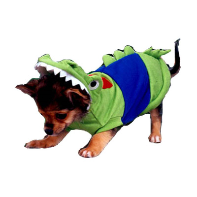 PAMPET / Puppe Love Dog Costume, Crocodile, Size 0