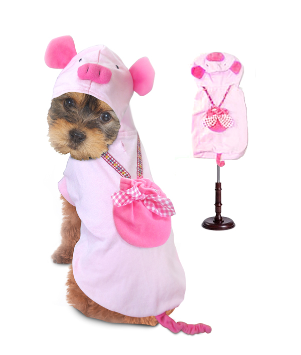 PAMPET / Puppe Love Dog Costume, Pig, Size 2