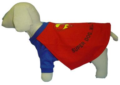 PAMPET / Puppe Love Dog Costume, Super-Dog, Size 0