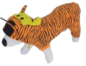 PAMPET / Puppe Love Dog Costume, Tiger, Size 0
