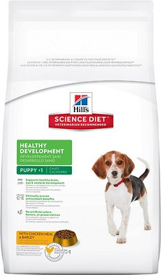 Hill's Science Diet Puppy Healthy Development with Chicken Meal & Barley Recipe Dry Dog Food, 15.5-lb bag