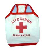 PAMPET / Puppe Love Dog Costume, Lifeguard Shirt, Size 5