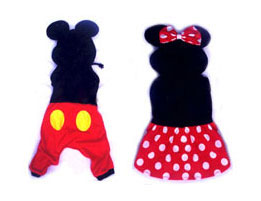 PAMPET / Puppe Love Dog Costume, Mouse Boy, Size 1
