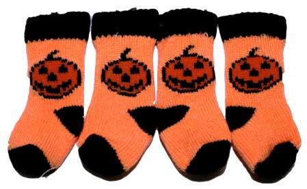 PAMPET / Puppe Love Dog Socks, Pumpkin, Small