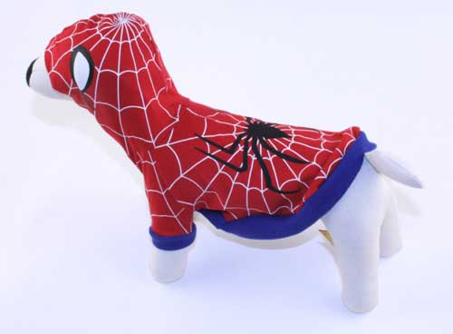 PAMPET / Puppe Love Dog Costume, Spider-Dog Red, Size 1
