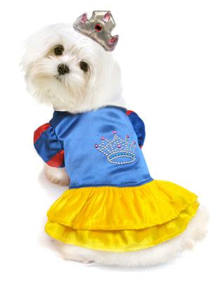 PAMPET / Puppe Love Dog Costume, Snow Princess, Size 0