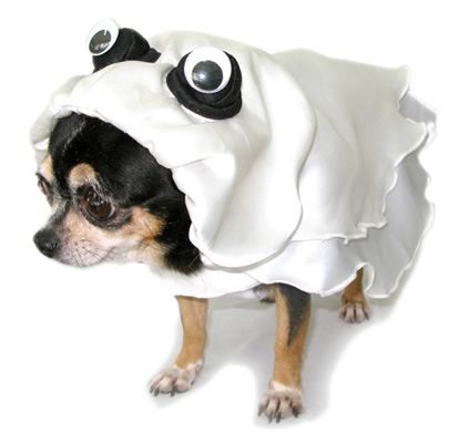 PAMPET / Puppe Love Dog Costume, Ghost, Size 3
