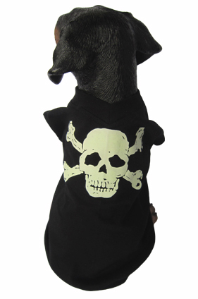 PAMPET / Puppe Love Dog Shirt, Skull, Size 6