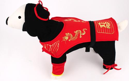 PAMPET / Puppe Love Dog Costume, Dragon Ninja, Size 0