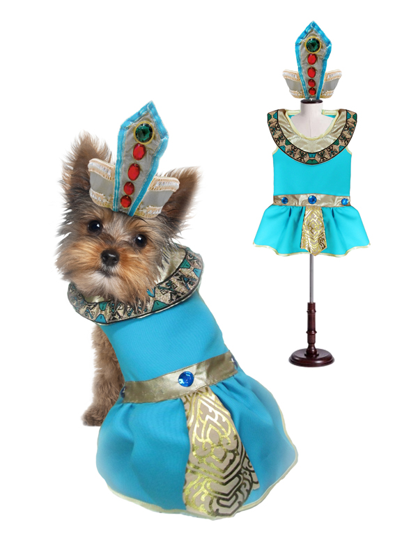 PAMPET / Puppe Love Dog Costume, Cleopatra, Size 2