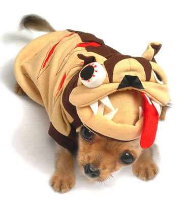 PAMPET / Puppe Love Dog Costume, Dog the Ripper, Size 0