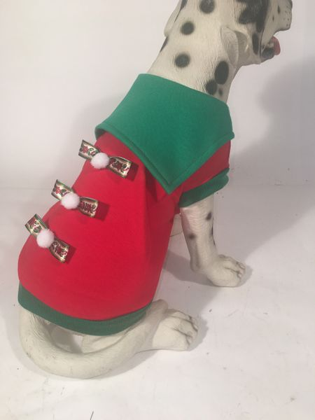 PAMPET / Puppe Love Dog Costume, Holiday Sailor, Size 1