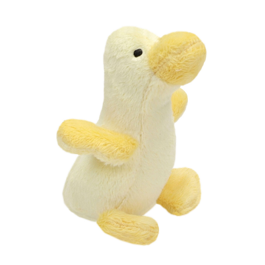 Coastal Pet Li'l Pals Duck Plush Dog Toy, 4.5-in