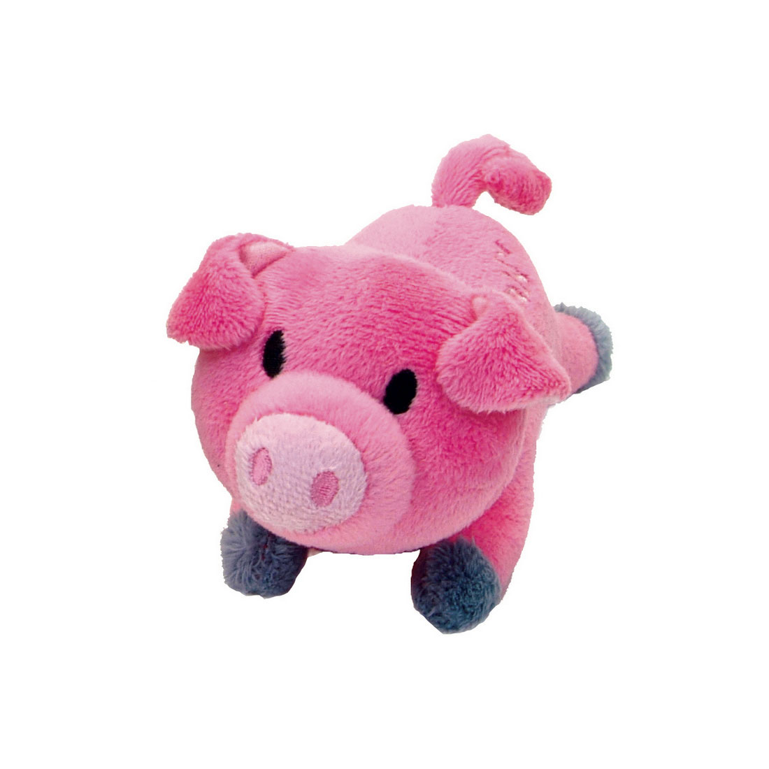 Coastal Pet Li'l Pals Pig Plush Dog Toy, 4.5-in