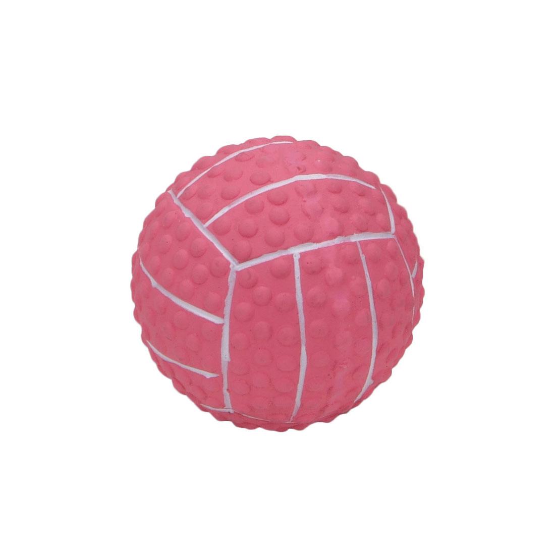 Coastal Pet Li'l Pals Latex Soccer Ball Dog Toy, Pink