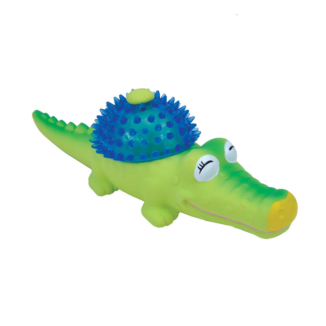 Coastal Pet Li'l Pals Latex & TPR Alligator Dog Toy
