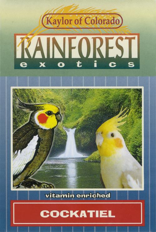 Kaylor Rainforest Exotics Cockatiel Food, 4-lb