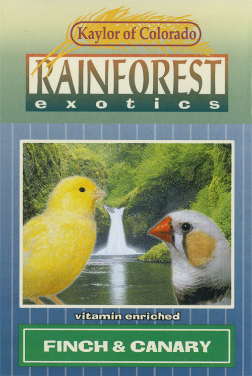 Kaylor Rainforest Exotics Canary & Finch Food, 2-lb