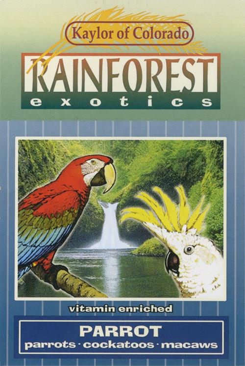 Kaylor Rainforest Exotics Parrot Food, 6-lb