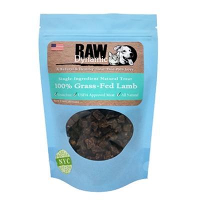 Raw Dynamic Lamb Dog Treats, 3.6-oz