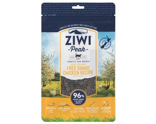 Ziwi Cat Peak Chicken Recipe Air-Dried Cat Food, 14-oz bag