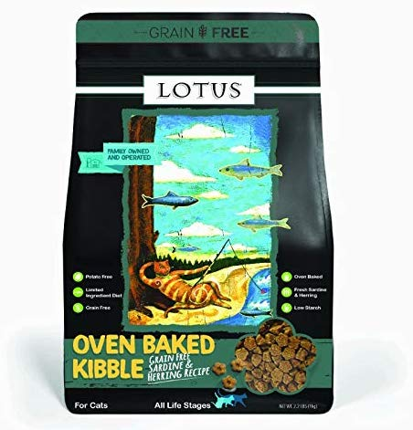Lotus Sardine and Herring Grain-Free Dry Dog Food, 2.2-lb