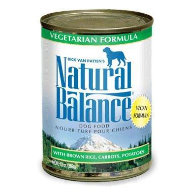 Natural Balance Vegetarian Formula Canned Dog Food, 13-oz