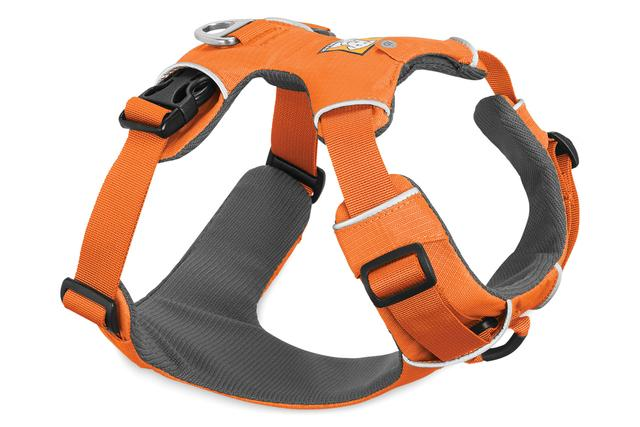Ruffwear Front Range Dog Harness, Orange Poppy, Extra Extra Small