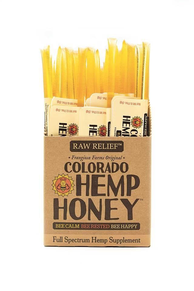 Colorado Honey Raw Relief Full Spectrum Extract Sticks, 100-count (1500-mg)