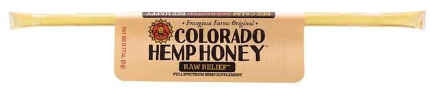 Colorado Honey Raw Relief Full Spectrum Extract Sticks, 1-count (15-mg)