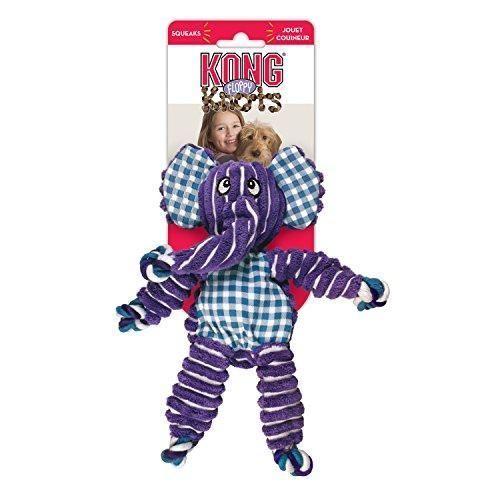 Kong Knots Elephant Cat&dog Medium/l X 1