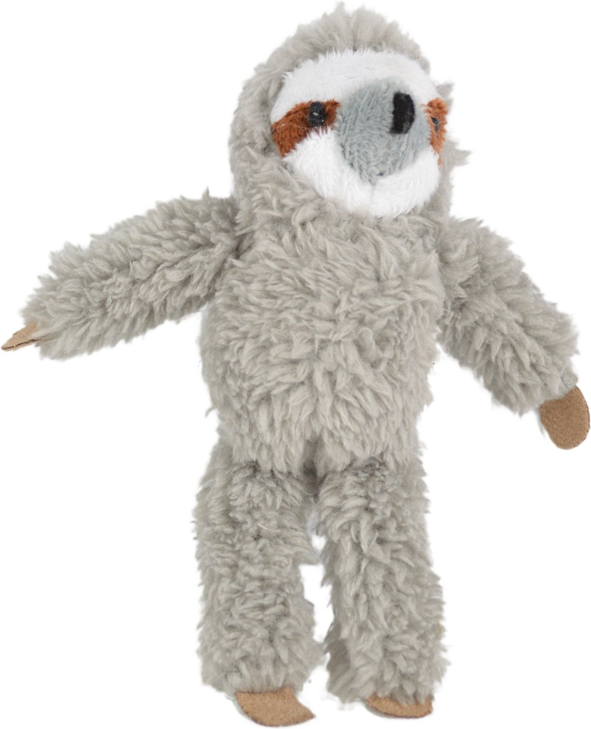 OurPets Play-N-Squeak Sloth Cat Toy